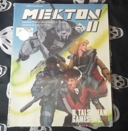 Mekton II cover MK1002