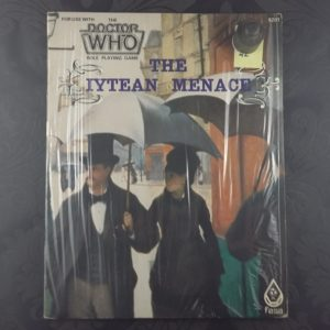 Dr Who rpg FASAIytean Menace