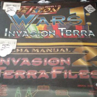 Mekton Invasion Terra and Files bundle covers