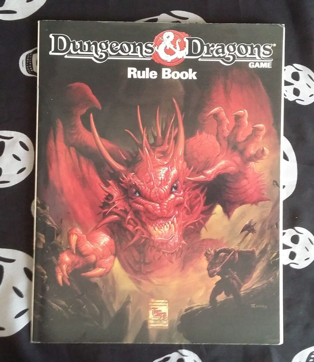 DnD rulebook exbox