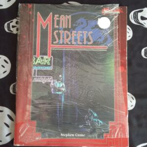 Bloodshadows rpg Mean Streets