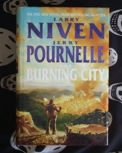 Burning City Niven and Pournelle cover