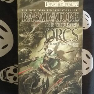 FR RA Salvatore A Thousand Orcs cover