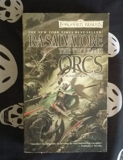 FR RA Salvatore A Thousand Orcs cover