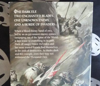 FR RA Salvatore A Thousand Orcs blurb