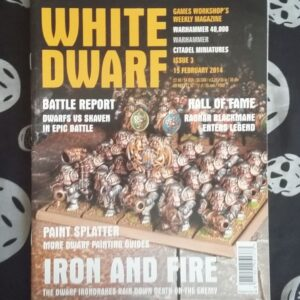 White Dwarf 3 Feb 2014 cover