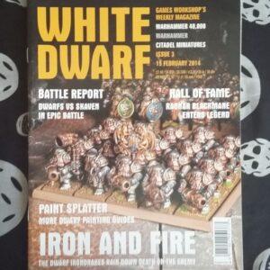 White Dwarf 3 Feb 2014 cover