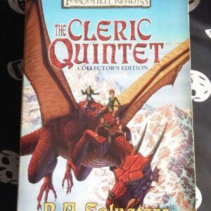 Forgotten Realms CLerics Quintet cover