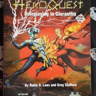HeroQuest roleplaying in Glorantha cover