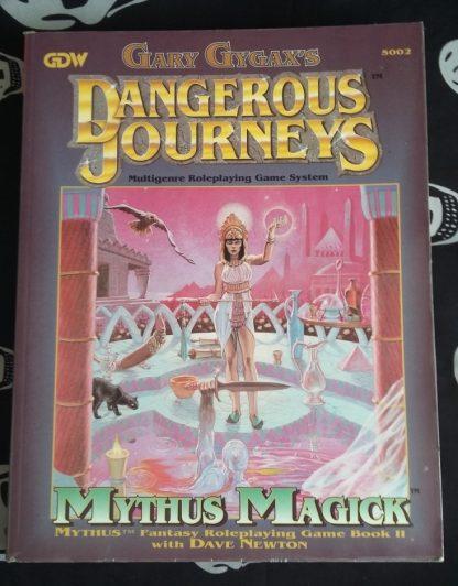 Mythus rpg book II cover