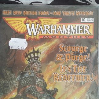 Warhammer Monthly issue 16 cover